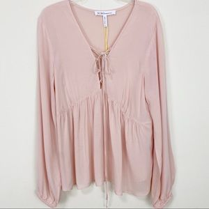 BCBGENERATION - peasant style empire waist blouse